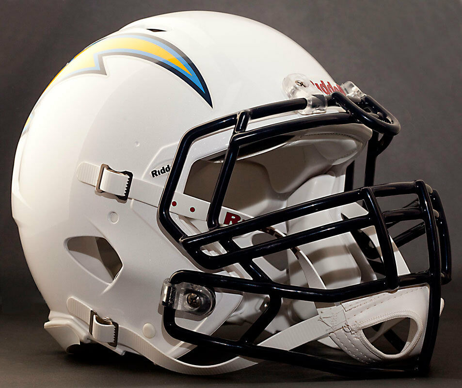 Custom San Diego Chargers Nfl Riddell Revolution