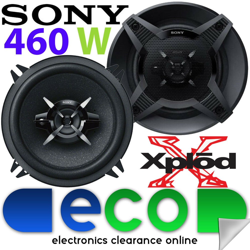 sony renault clio mk3 2005 2009 13cm 460 watts 2 way front door car speakers ebay. Black Bedroom Furniture Sets. Home Design Ideas