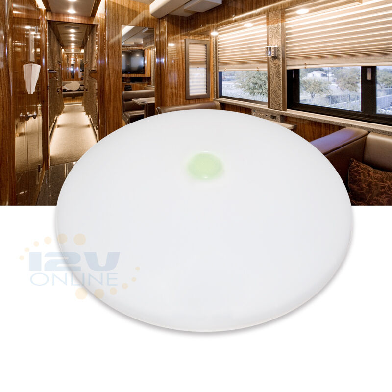 "4.5"" 12V LED Ceiling Light RV Camper Under Cabinet Dome"