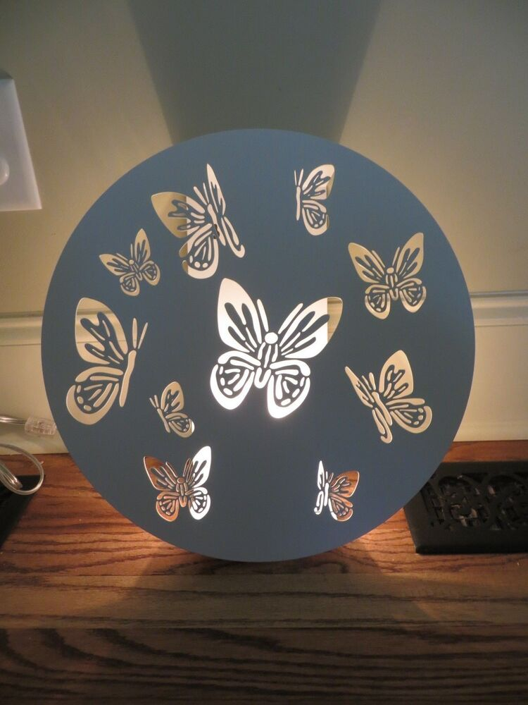 New Pottery Barn Kids Cut Out Butterfly Light Up Wall