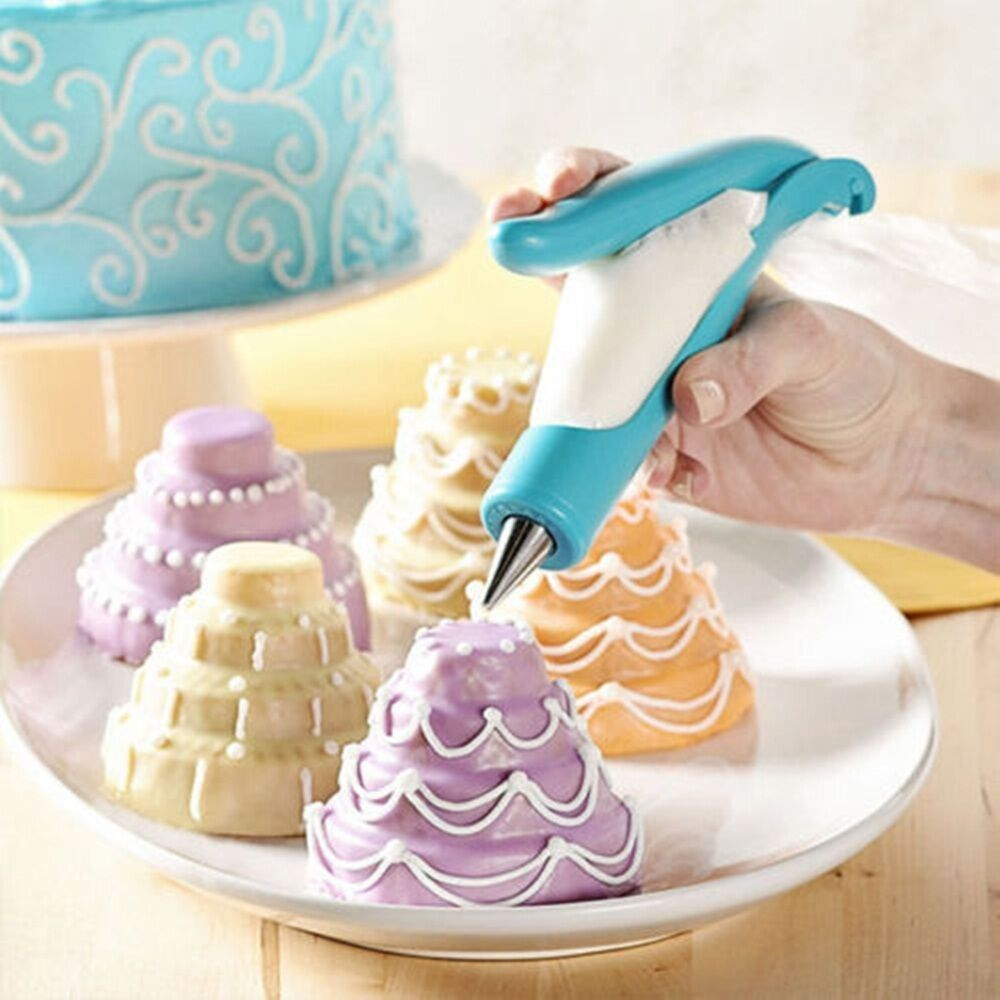 fondant cake sugarcraft decorating pen g pastry tools icing piping bag nozzle ebay. Black Bedroom Furniture Sets. Home Design Ideas