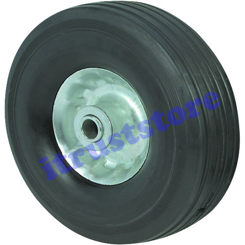 8 Quot 10 Quot Inch Solid Hard Rubber Replacement Tire Wheel And