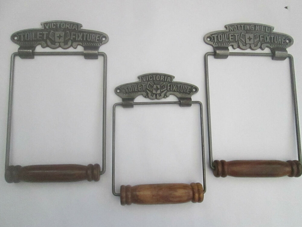 vintage victorian old style period bathroom wc washroom loo toilet roll holder ebay. Black Bedroom Furniture Sets. Home Design Ideas