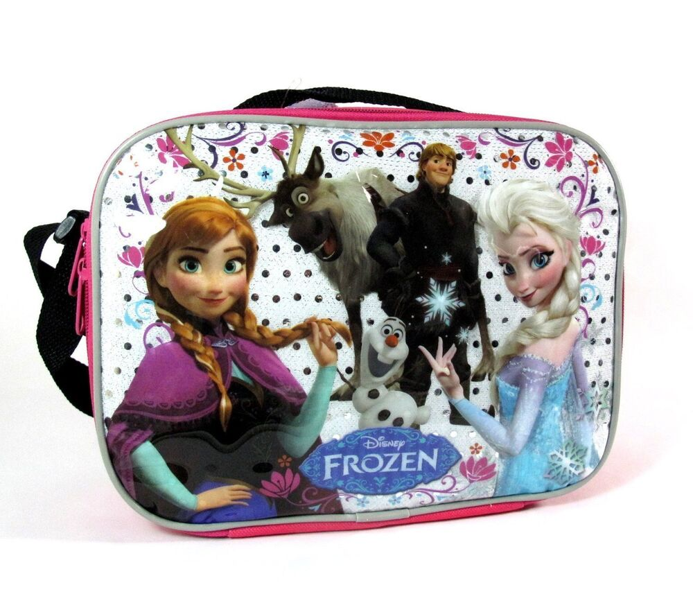Disney Frozen Lunch Box Carry Bag with Shoulder Strap and Water Bottle Disney Frozen Lunch Box Carry Bag with Shoulder Strap and Water Bottle (PINK). by GoodyPlus. $ $ 11 25 Prime. FREE Shipping on eligible orders. More Buying Choices. $ (9 new offers) out of 5 stars