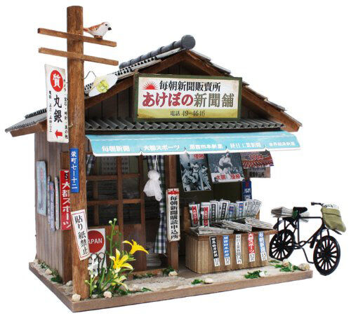 Doll House Miniature Model Kit Figure Handcraft /Japanese