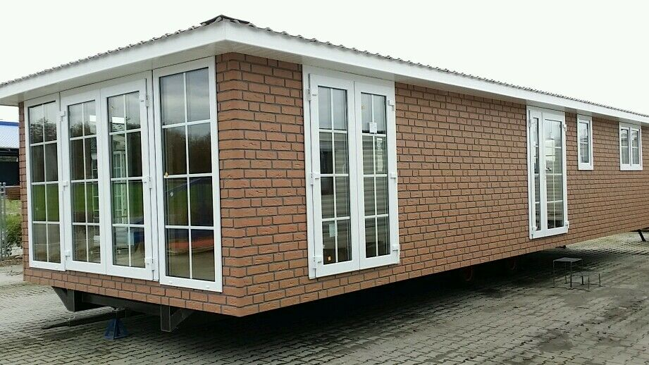 mobilheim 3fach glas winterfest wohnwagen baucontainer container wohnmobil haus ebay. Black Bedroom Furniture Sets. Home Design Ideas
