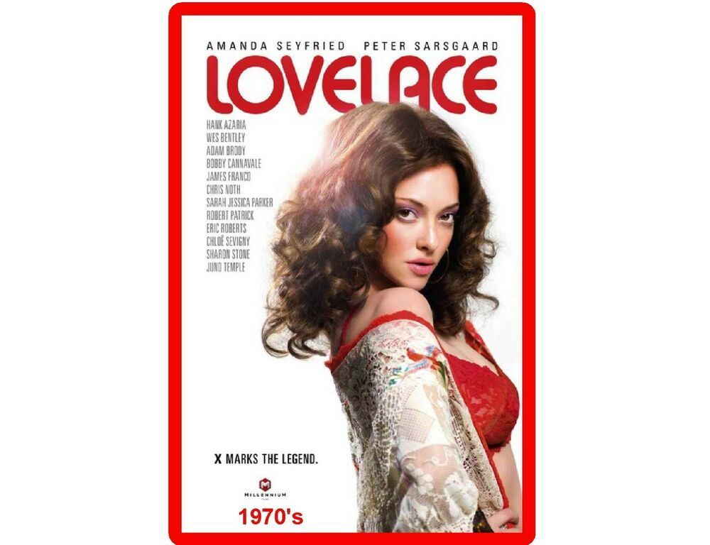 linda lovelace 1970s adult movie poster refrigerator