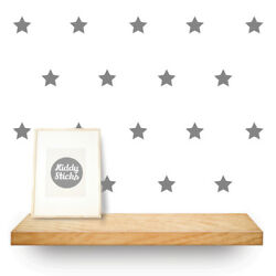 Star Wall Stickers - 3 Sizes & 15 Colours Available: UK