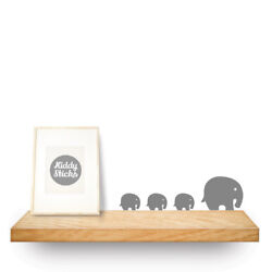Elephant Wall Stickers 2 Sizes 15 Colours Available: UK seller  Free P&P