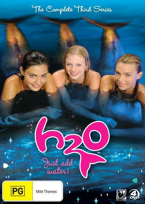 H2o just add water series 3 dvd 2012 4 disc set for Just add water series