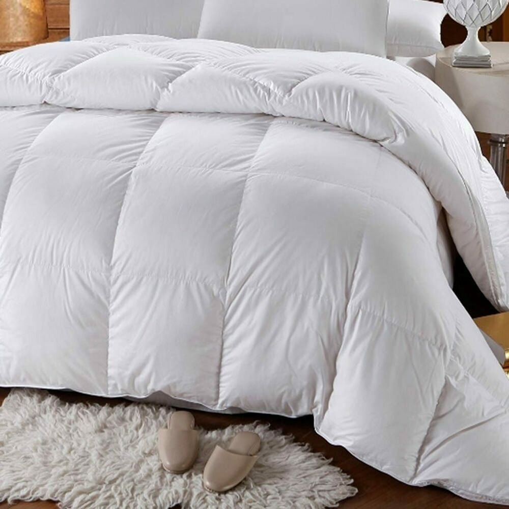 four seasons down alternative comforters 300tc white down alternative comforter ebay. Black Bedroom Furniture Sets. Home Design Ideas
