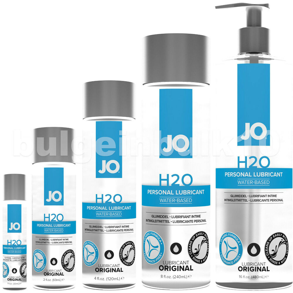 silicone based personal lubricant choose size