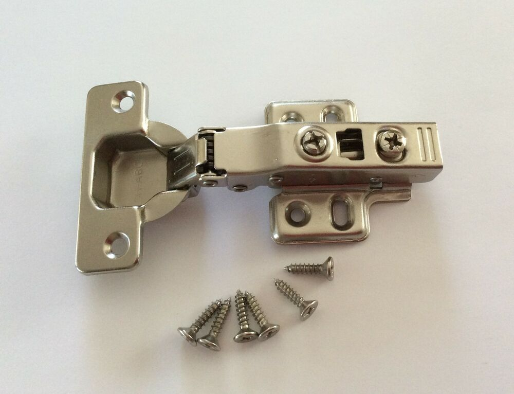 Soft Close Full Overlay Concealed Hinges Clip On Kitchen