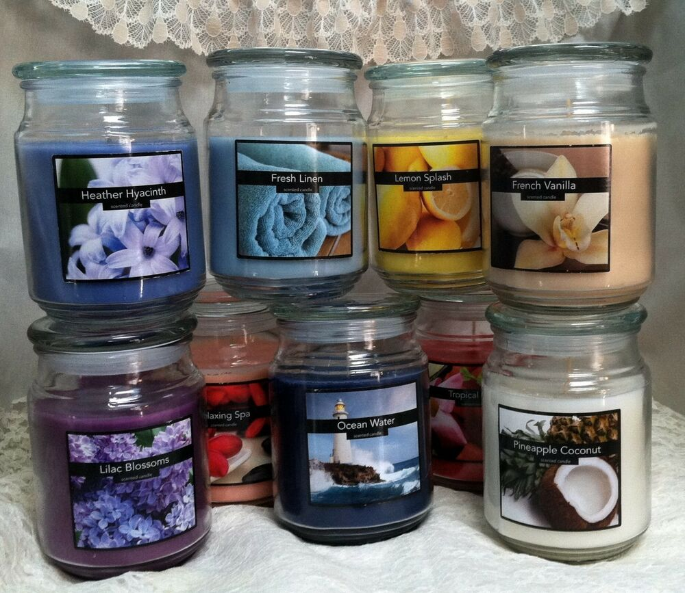 Old Williamsburg, Nicole's Large Scented Jar Wax Candles