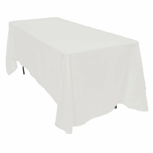 Linentablecloth 70 x 120 inch rectangular polyester for 120 table cloths
