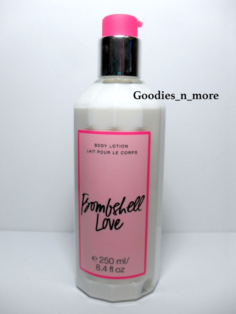 brand new victoria 39 s secret bombshell love body lotion 8 4. Black Bedroom Furniture Sets. Home Design Ideas