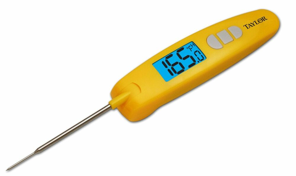 Taylor Lcd Digital Food Service Thermometer With To