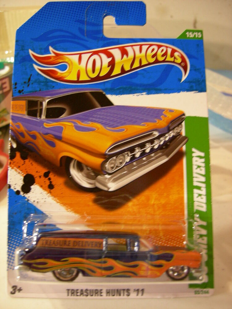 hot wheels super treasure hunts 59 chevy delivery ebay. Black Bedroom Furniture Sets. Home Design Ideas
