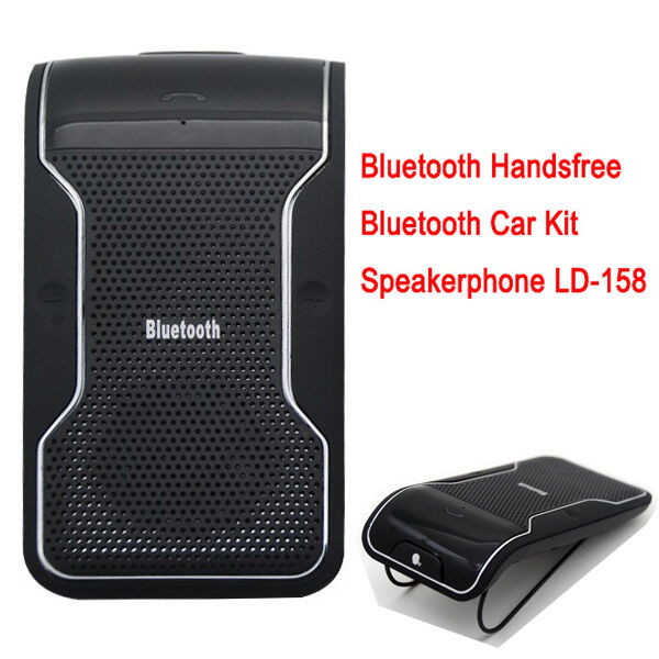 ld 158 wireless bluetooth car kit handsfree bt. Black Bedroom Furniture Sets. Home Design Ideas