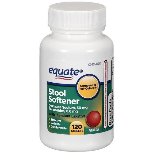 Equate Stool Softener Tablets With Stimulant Laxative 120