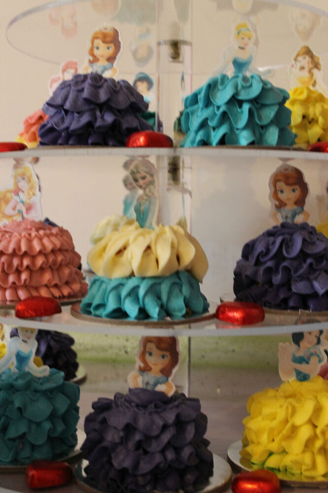 Belle Edible Cake Decorations