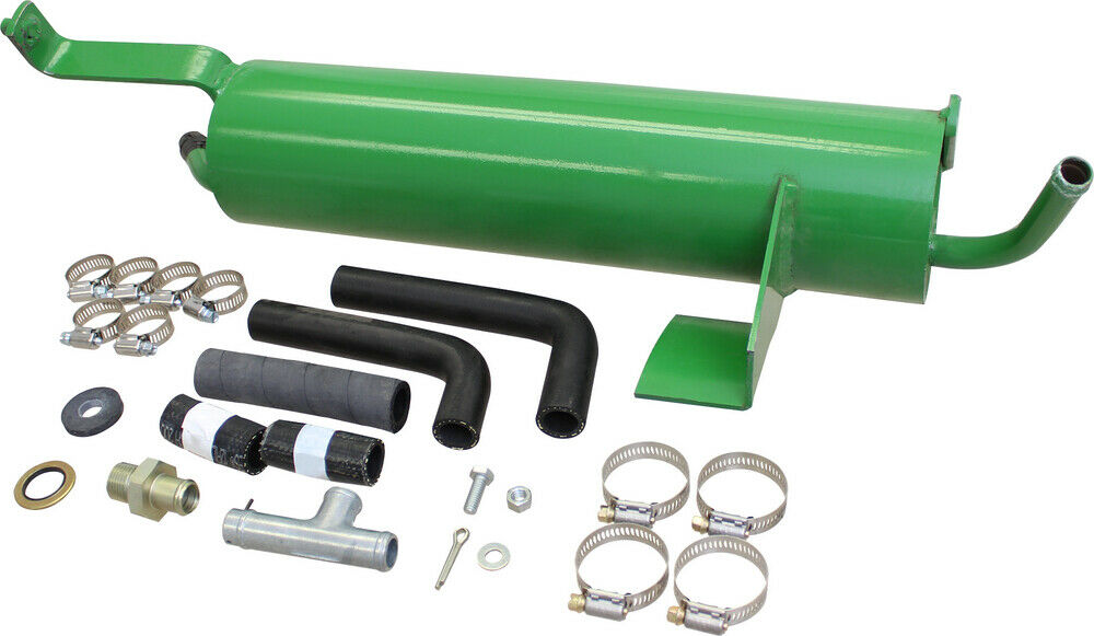 Heavy Equipment Hydraulic Oil Coolers : Amx hydraulic oil cooler kit for john deere
