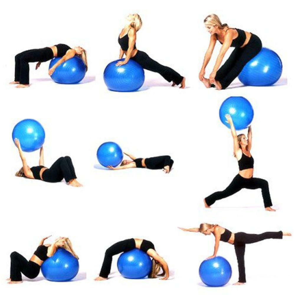 FITNESS BALL SWISS BALL GYM YOGA EXERCISE PREGNANCY