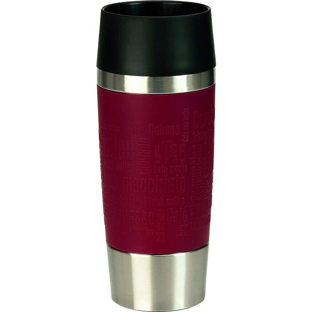 emsa travel mug thermos mug travel mug coffee mug isolated. Black Bedroom Furniture Sets. Home Design Ideas