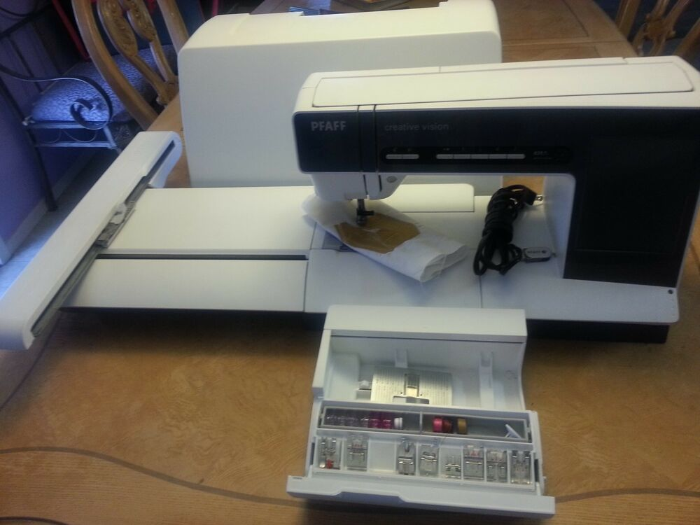 Pfaff Creative Vision Embroidery Sewing Machine | eBay