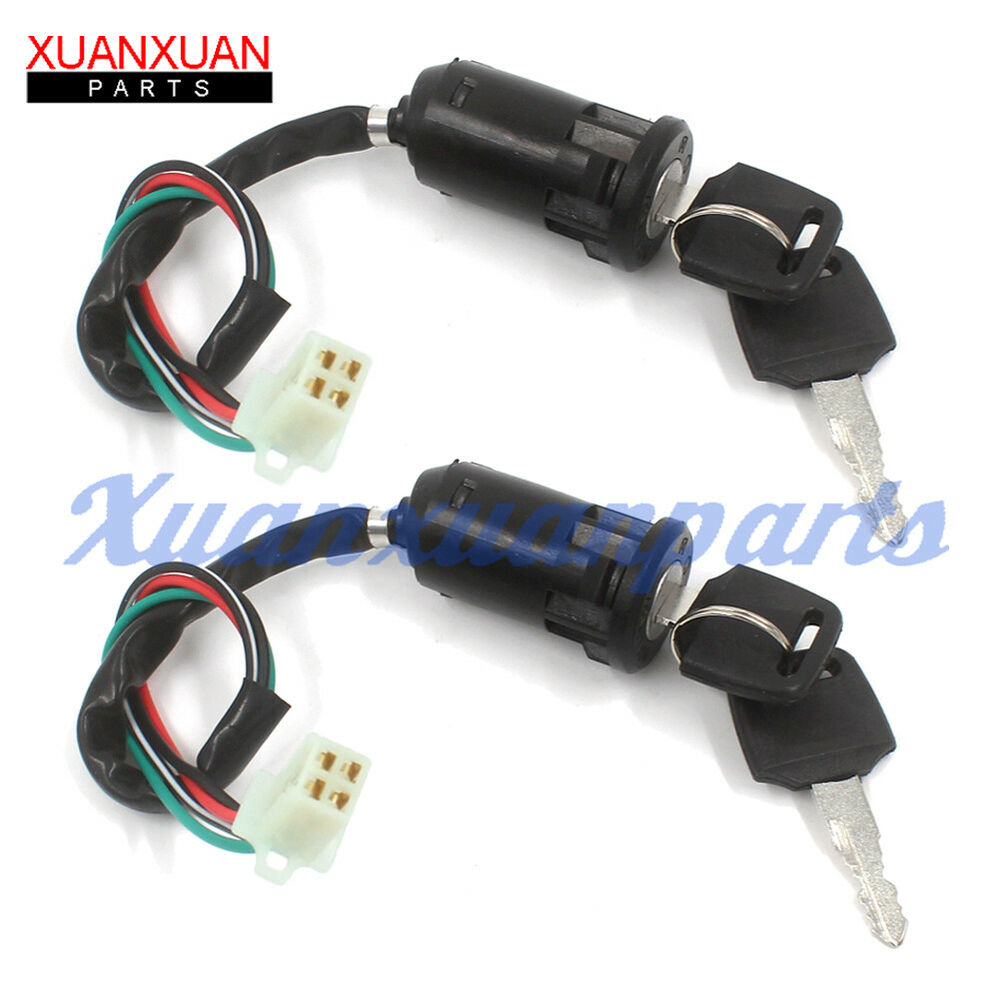 ignition key switch for chinese quad atv 50cc 70cc 90cc Baja 90 ATV Wiring Diagram 2006 Chinese ATV Wiring Diagram