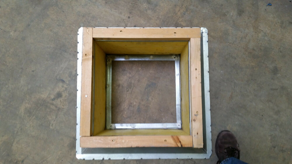 Fan Roof Curb 12 Quot X 12 Quot 4hx46 Ebay