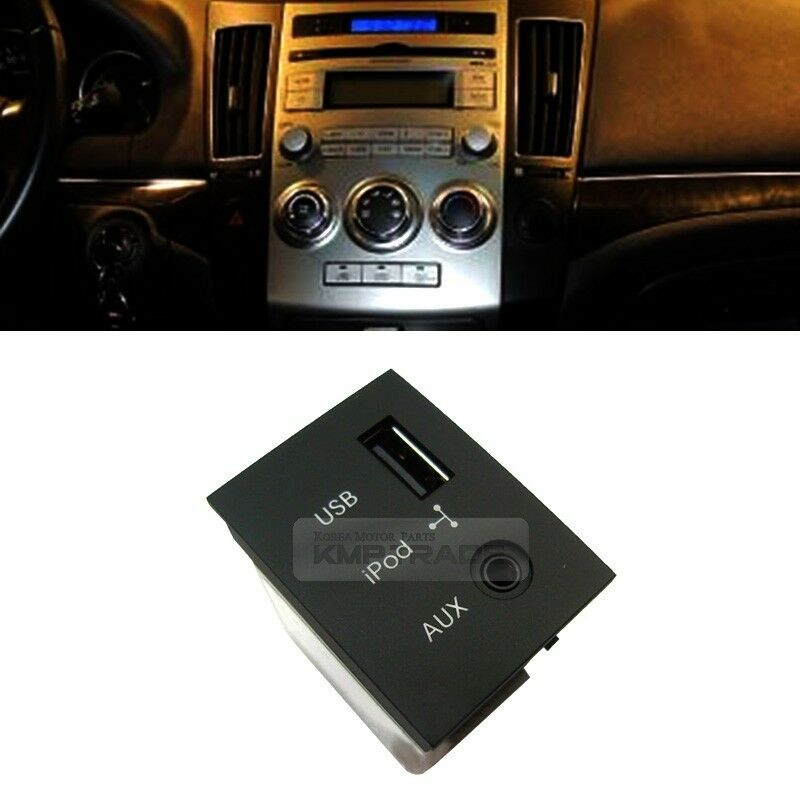 Oem Genuine Usb Reader Ipod Aux Port Adapter For Hyundai