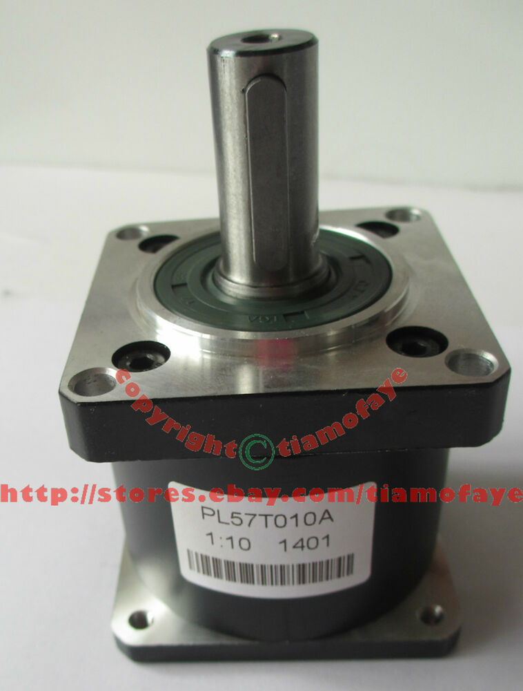 Nema 23 57mm stepper motor use planetary gearbox single for Stepper motor gear box