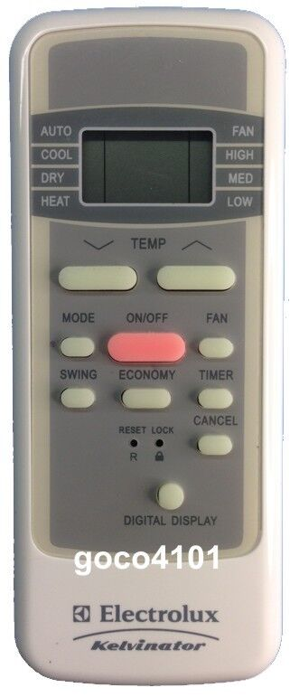 original electrolux ac air conditioner remote control r51 bge rh ebay co uk