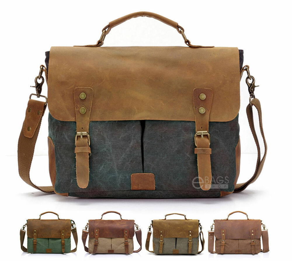 Find great deals on eBay for canvas leather bag. Shop with confidence.