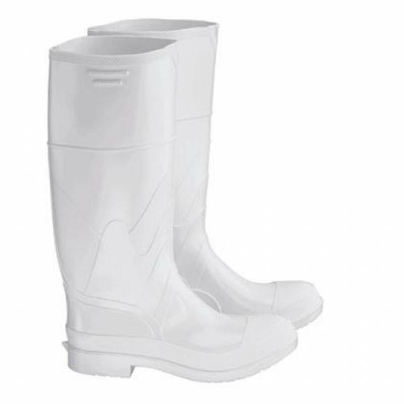 men 39 s 11 white rubber rain work fishing boots ebay