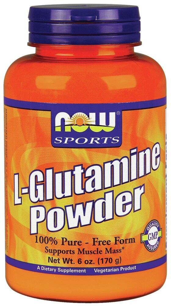 Pure glutamine powder