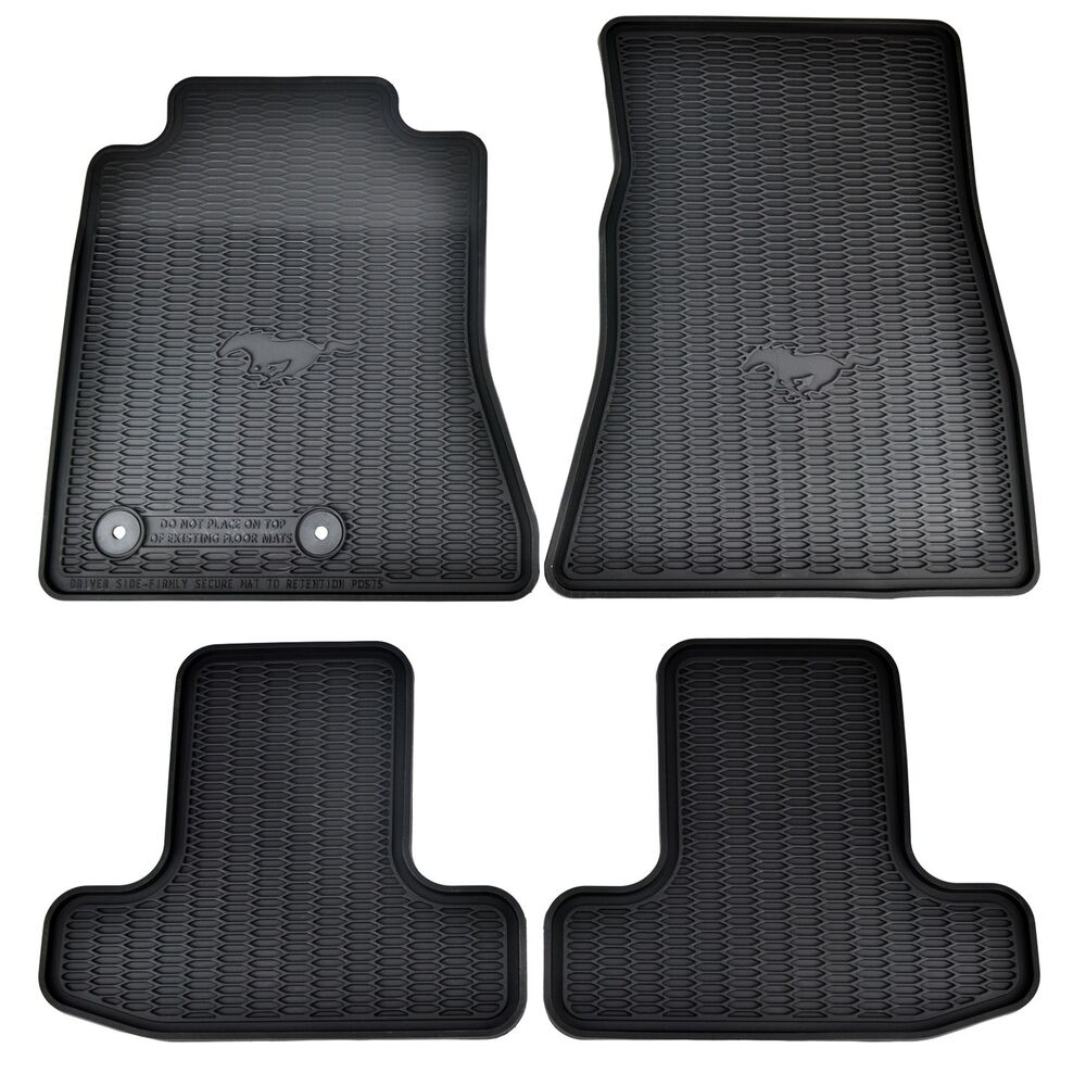 Oem New 15 17 Ford Mustang All Weather Vinyl Contour Floor