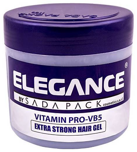 elegance extra strong protection medium hold hair gel
