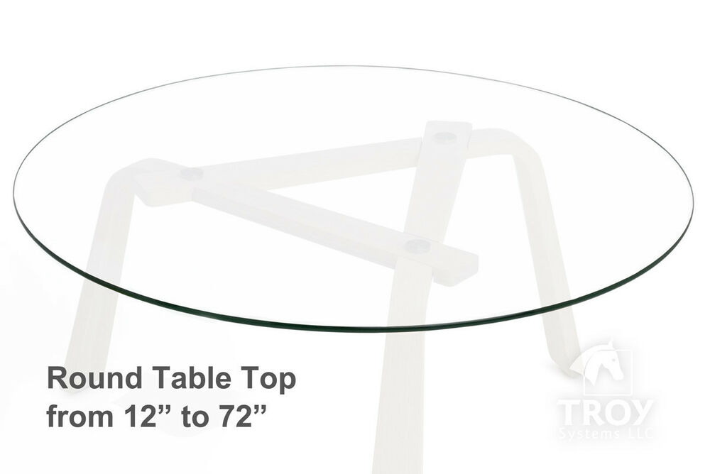 round glass table top 12 14 16 18 20 22 23 24 25 26 27 28 to 72 ebay. Black Bedroom Furniture Sets. Home Design Ideas