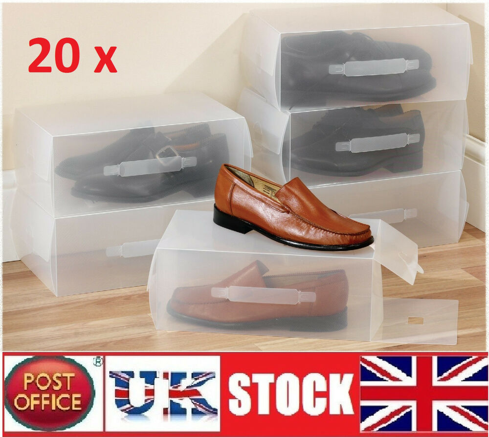 See Through Shoe Boxes Uk