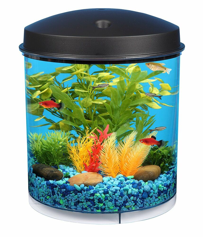kollercraft aquarius aquaview 360 aquarium kit with led. Black Bedroom Furniture Sets. Home Design Ideas