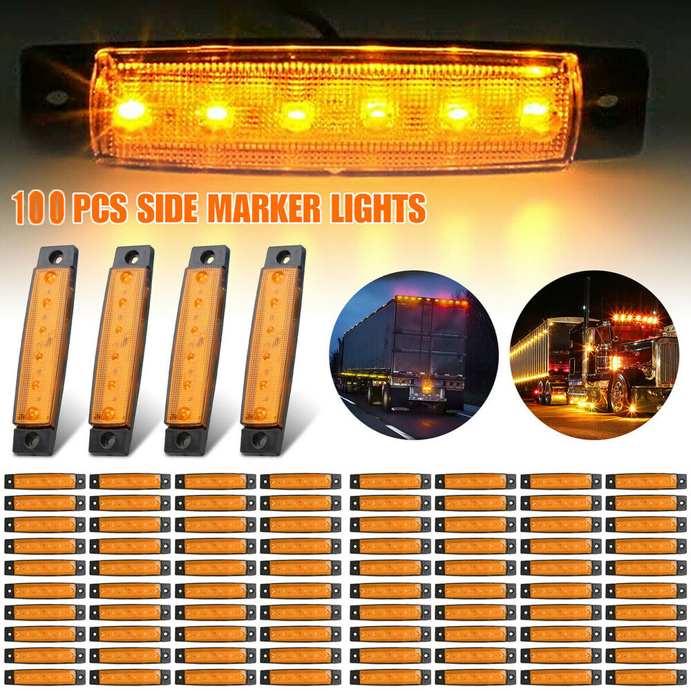 4 Led Round Car Drl Driving Daytime Running Light Fog Day