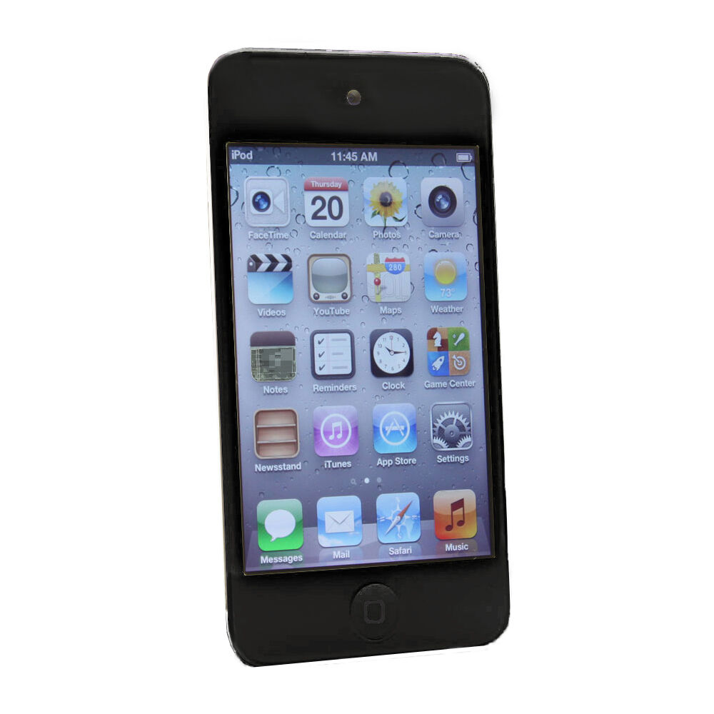 apple ipod touch 4th generation black My ipod touch screen all of a sudden went black, it was only a few months old, ipod touch 4th generation this was a replacement from my original ipod, from apple.