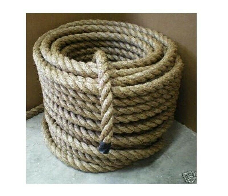 1 1 2 nautical manila rope cut to length boat dock