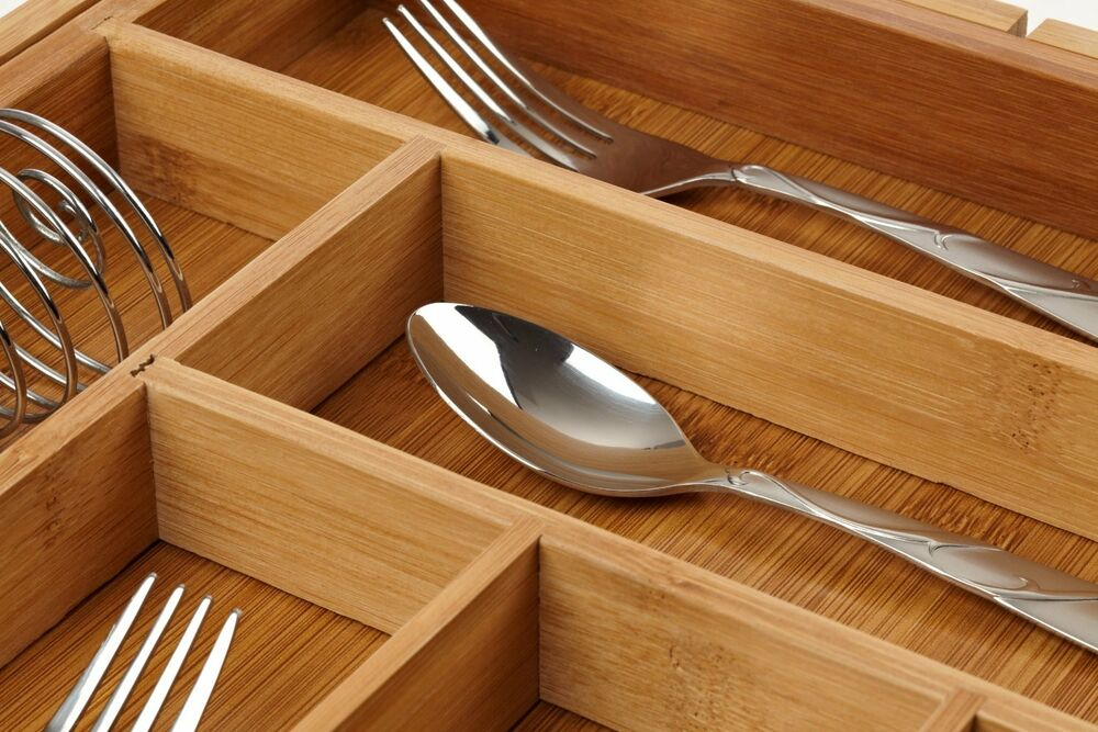 cutlery drawer organizer basket kitchen utensils