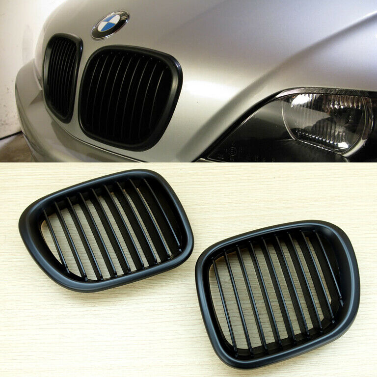 Bmw Z3 Hood: Matte Black Kidney Hood Grilles For BMW Z3 1996-2002 Coupe