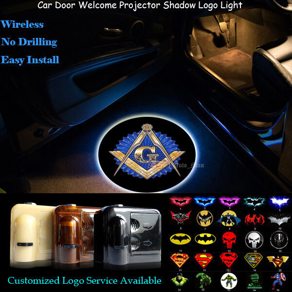2pcs Free And Accepted Masons Logo Wireless Car Door Laser Make Your Own Beautiful  HD Wallpapers, Images Over 1000+ [ralydesign.ml]