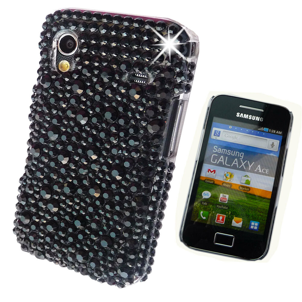 Cooling Case For Samsung Galaxy S3 : New bling black cool d diamante case cover samsung galaxy