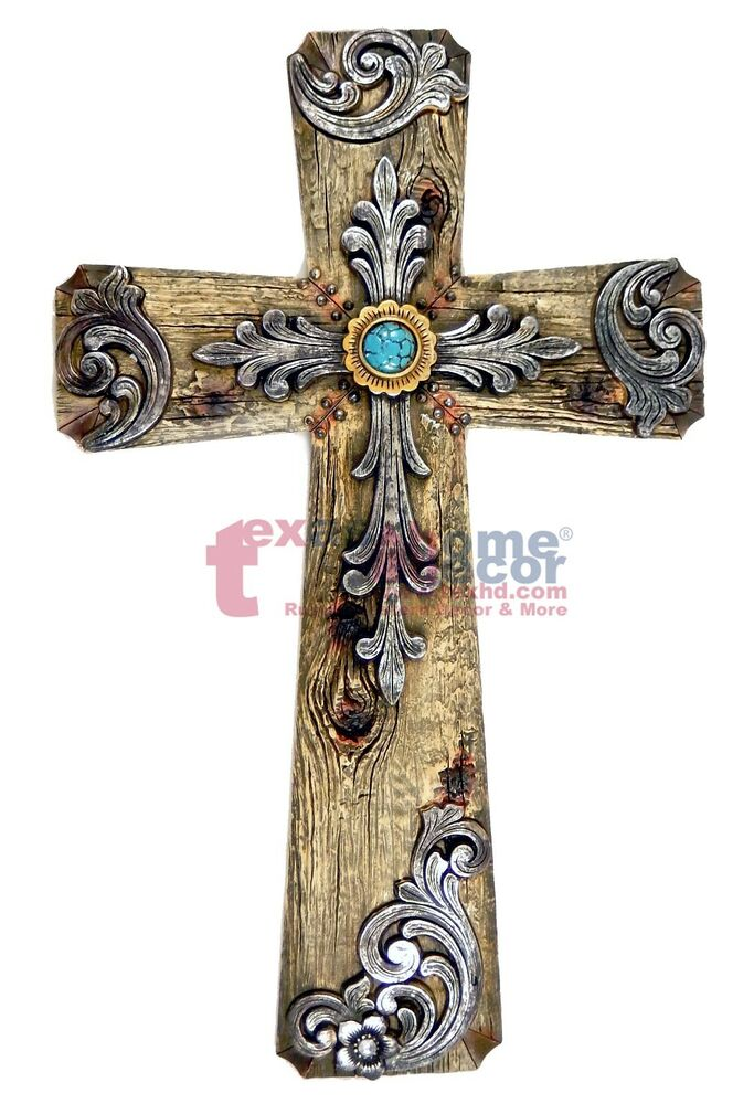 Decorative crosses for the home set of 3 decorative crosses wall cross by shineboxprimitives Home decor wall crosses